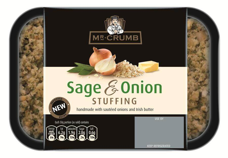 Mr. Crumb Sage & Onion Stuffing 100g