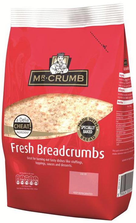 Mr. Crumb Fresh Breadcrumbs 400g