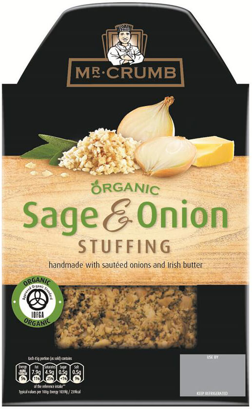 Mr. Crumb Organic Sage & Onion Stuffing